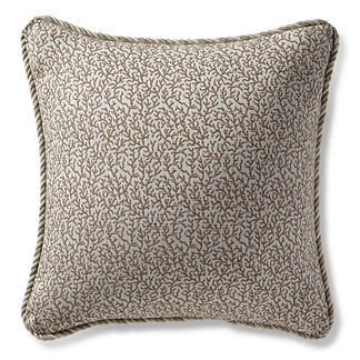 Melita Cay Sand Outdoor Pillow
