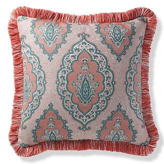 Royden Frame Peony Outdoor Pillow