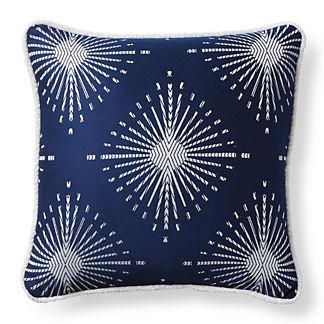 Soleil Gem Indigo Outdoor Pillow