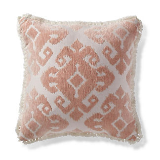 Tula Medallion Peche Outdoor Pillow