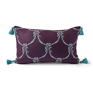Chateau Garland Iris Outdoor Lumbar Pillow