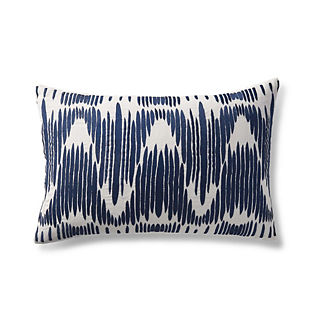 Zig Zag Decorative Lumbar Pillow