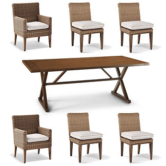 Somerset 7-pc. Rectangular Dining Set