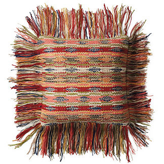 Grenada Fringe Outdoor Pillow