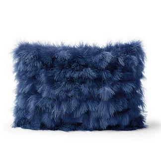 Marabou Decorative Pillow