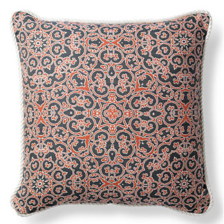 Abundance Peony Outdoor Pillow