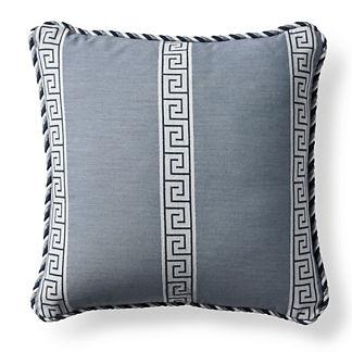 Atlas Indigo Outdoor Pillow