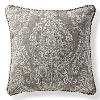 Bordeaux Linen Slate Outdoor Pillow