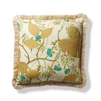 Scalamandre Malibu Sand Outdoor Pillow