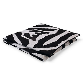 Zebra Onyx Outdoor Throw