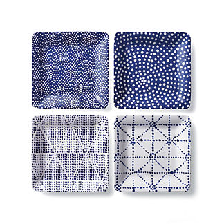 Costa Appetizer Plates by Porta Forma, Set of Four
