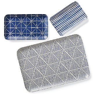 Costa Rectangular Trays by Porta Forma, Set of Three