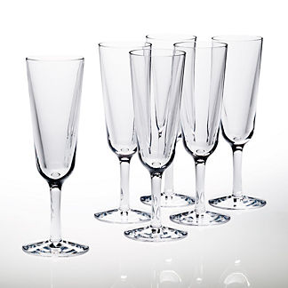 7 oz. Champagne Glasses, Set of Six