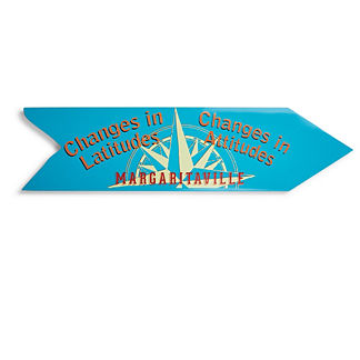 Margaritaville Latitude Changes Directional Sign