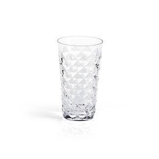 Diamond Cut Highball Glasses by Porta Forma