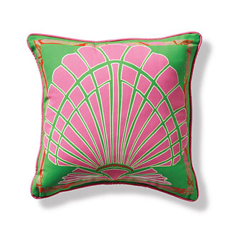 Bay Scallop Outdoor Pillow