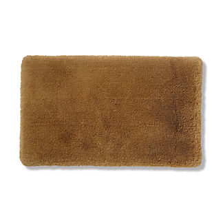 Belize Memory Foam Bath Rug in Bronze