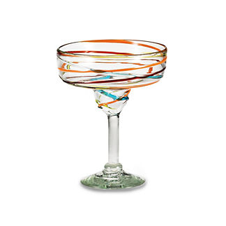 Margaritaville Swirl Margarita Glasses, Set of Four