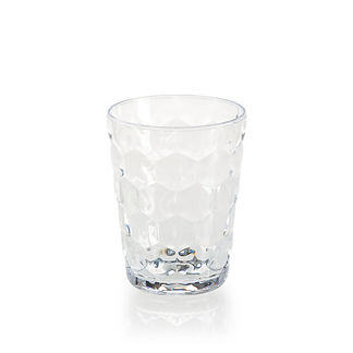 Honeycomb Double Old Fashioned Glasses, Set of Four