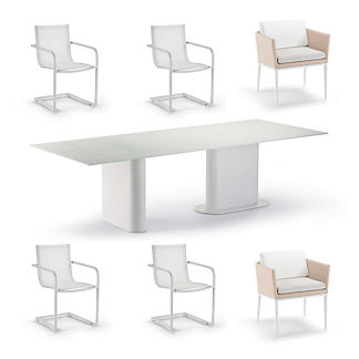 Palazzo Shell 7-pc. Dining Set by Porta Forma