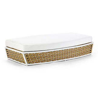 Ravello Oasis Daybed Ottoman Cushion by Porta Forma