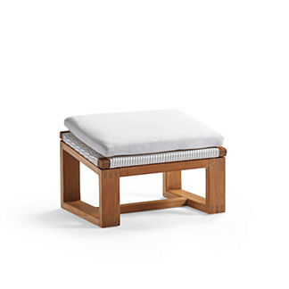 Laurent Ottoman Cushion by Porta Forma