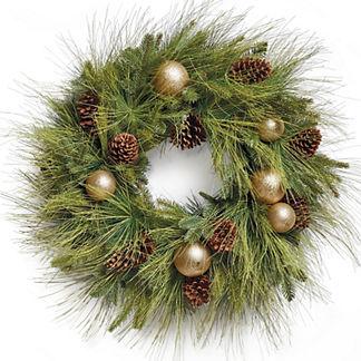Sun Valley Pre-Decorated Wreath