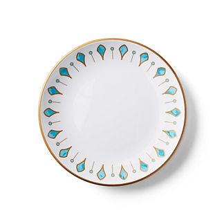Donatella Capri Melamine Salad Plates, Set of Four