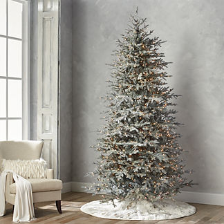 Diamond Dust Artificial Pre-lit Artificial Christmas Tree
