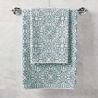 Resort Tile Bath Towel