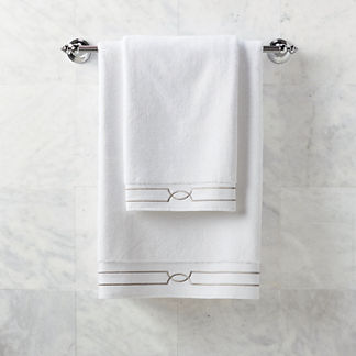 Resort Fretwork Hand Towel