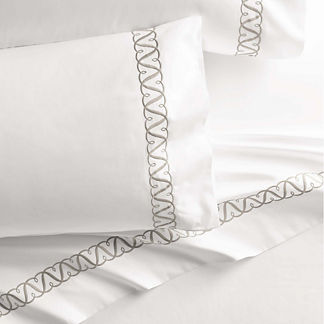 Resort Trellis Pillowcases, Set of Two