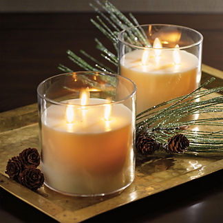 Tri-wick Rechargeable Dream Candle