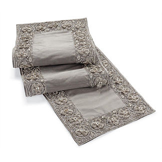 Diamond Floral Table Runner
