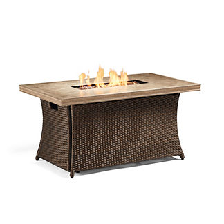 Palermo Chat Gas Fire Table
