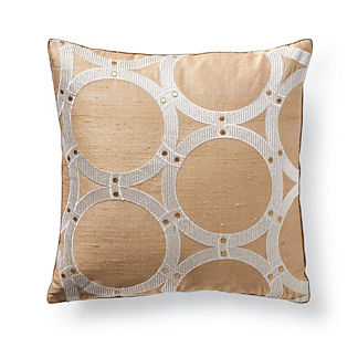 Blanche Studded Decorative Pillow by Dransfield & Ross