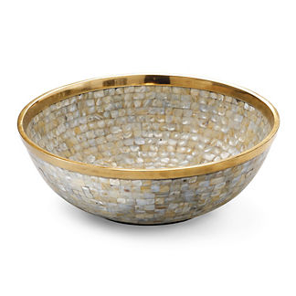Donatella Pearl Serving Bowl