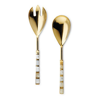 Donatella Pearl Servers, Set of Two