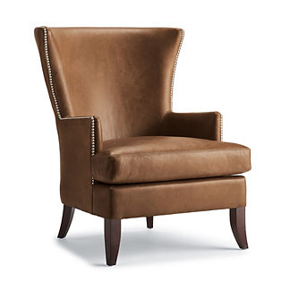Jeffrey Leather Chair