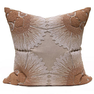 Catania Embroidered Decorative Pillow by Bliss Studio