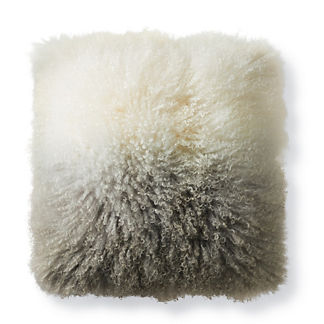 Mongolian Fur Ombre Pillow
