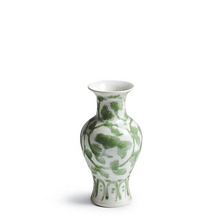 Jade Vine Shaped Flared Vase