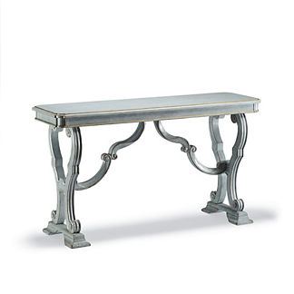 Toulon Pearl Blue Console Table