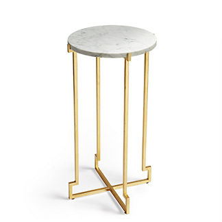 Linden Offset Accent Table