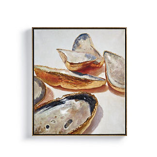 Oyster Group Shell Wall Art