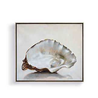 Single Oyster Shell Wall Art