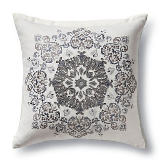 Calabria Applique Decorative Pillow