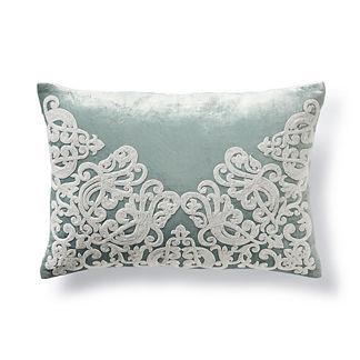 Luciano Beaded Lumbar Pillow