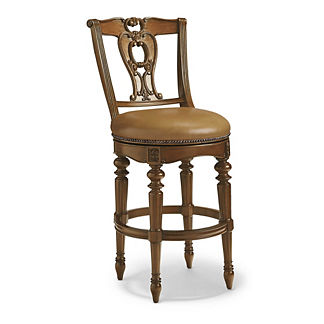 Promenade Swivel Bar Height Bar Stool