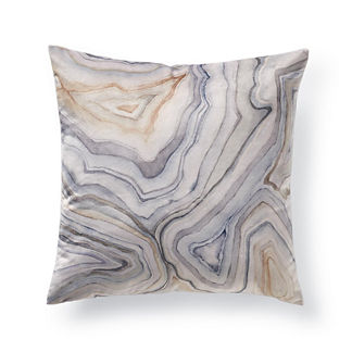 Agate Velvet Decorative Pillow